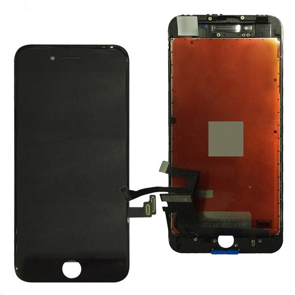IPhone 8 Plus Screen Assembly (Black) (Aftermarket) (SC) - Normal IC Chip<br />