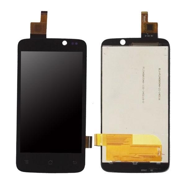 Archos 40 Titanium Screen Assembly (Black) (Premium)