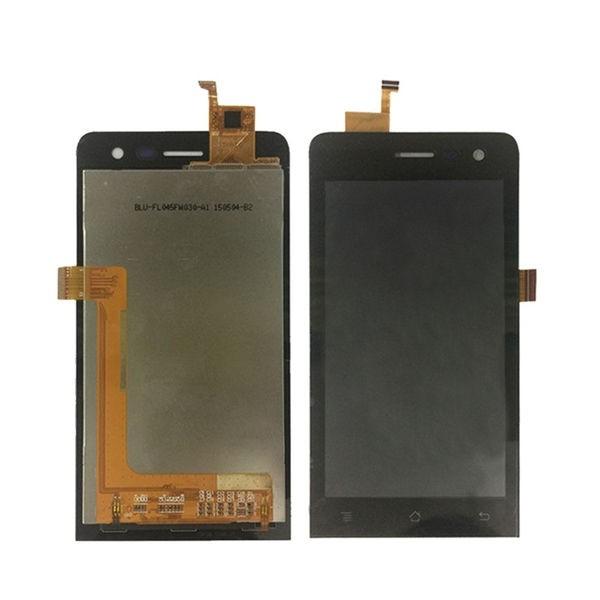 Archos 45 Helium Screen Assembly (Black) (Premium)
