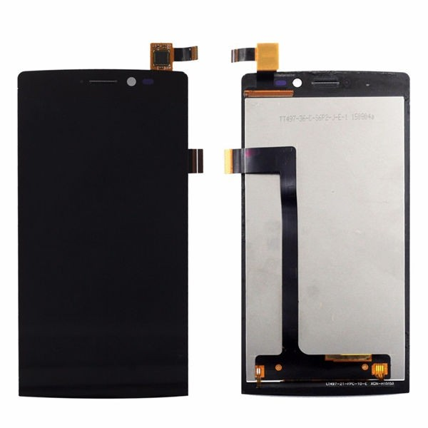 Archos 50 Diamond Screen Assembly (Black) (Premium)