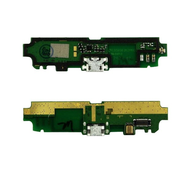 Lenovo S650 USB Microphone Vibration Board PCB Charge Plug Original