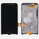 BlackBerry Z30 LCD Screen and Digitizer Assembly With Frame Black(4G) - Full Original - With BlackBerry Logo Only