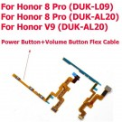 Huawei Honor 8 Pro V9 DUK-L09 DUK-AL20 Power Volume Button Flex Cable (OEM) 5pcs/lot