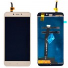 Redmi 4X Screen Assembly (Gold) (Premium) - frame optionaled