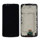 """LG K10 K410 K420 K430 5.3"""" Screen Assembly with Frame (Black) (Premium)"""