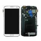 Samsung Galaxy Note 2 N7100 Screen Assembly with Frame (White) (Premium)