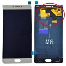 Gionee M6 LCD Screen and Digitizer Assembly - Gold - Full Original