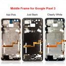 Google Pixel 3 Middle Frame (White/Pink/Black) (Original)
