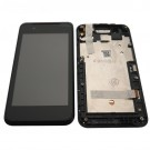 HTC Desire 210 Screen Assembly with Frame (Black) (OEM)