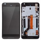 HTC Desire 626S LCD Screen and Digitizer Assembly with Frame - Gray - Full Original