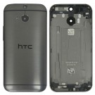 HTC One M8 M8S Rear Housing (Grey ) - Original - With HTC Logo Only - With Words