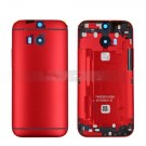 HTC One M8 M8S Rear Housing (Red) - HTC Logo - With Words Original