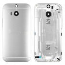 HTC One M8 M8S Rear Housing (Silver) - With HTC Logo Only - With Words Original