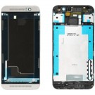 HTC One M9 Front Housing - Silver - Original