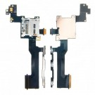 HTC One M9 SD Card Reader Contact Power Volume Flex Cable Ribbon Original