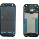 HTC One Mini 2 Front Housing without Top and Bottom Cover - Black Original