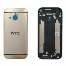 HTC One Mini 2 Rear Housing (Gold) - HTC Logo - With Words Original