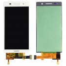 Huawei Ascend P6 Screen Assembly (White) (Premium) - frame optionaled