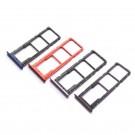 Huawei Honor 8X SIM Tray Black (Dual Card Version) (Purple/Blue/Red/Black) (Original)