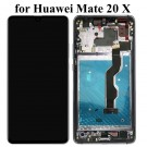 Huawei Mate 20 X Screen Assembly with Frame (Blue/Black) (OEM)