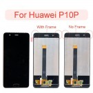 Huawei P10 Plus Screen Assembly (White/Black) (OEM) - frame optionaled