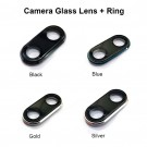 Huawei P20 Rear Camera Glass Lens Cover with Ring (Silver/Gold/Blue/Black) (OEM)