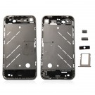 iPhone 4S Middle Cover With Small Parts Black