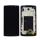 LG G4C H525N H500 H502 Screen Assembly with Frame (Black) (Premium) - LG Logo