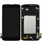 "LG K7 X210 X210DS MS330 LS675 5 5"" Screen Assembly with Frame (Black) (Premium)"