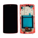 LG Nexus 5 D820 Screen Assembly with Frame (Red) (Premium) (with Mesh Cover)