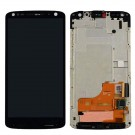 Motorola Droid Turbo 2 Moto X ce XT1581, XT1585 Not Fragile LCD Screen and Digitizer Assembly with Frame - Black - Full Original