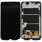 Motorola Droid Ultra XT1080 Black LCD Screen and Digitizer Assembly with Black Frame - Full Original - Without Any Logo