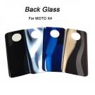 Motorola Moto X4 Glass Battery Door (Silver/Gold/Blue/Black) (OEM)