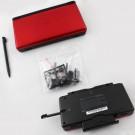 Nintendo NDSL Housing Compatible Black Red