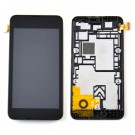 Nokia Lumia 530 LCD Display Touch Digitizer Screen Assembly with Frame - Full Original