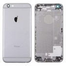 iPhone 6 Rear Housing With Apple Logo&Buttons - Gray - With Words