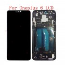 OnePlus 6 Screen Assembly with Frame (Black) (OEM)