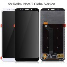 Redmi Note 5 Global Version Screen Assembly (Black) (OEM) - frame optionaled