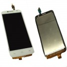 Alcatel One Touch Idol Mini 2 OT6016 LCD Screen and Digitizer Assembly - White - Full Original