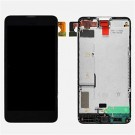 Nokia Lumia 635 / 630 LCD Screen and Digitizer Assembly with Frame - Black - Full Original