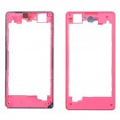 Sony Xperia Z1 Compact Rear Housing - Pink Original