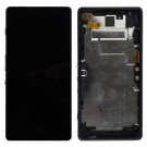 Sony Xperia Z2a Screen Assembly( Black) (Premium) - frame optionaled