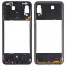 Samsung Galaxy A30 Middle Frame (Black) (Original)
