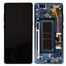 Samsung Galaxy Note 8 N950F Screen Assembly with Frame (Blue) (OEM)
