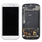 Samsung Galaxy S3 LCD Screen Assembly with Frame (White/Blue) (TFT brightness adjust)