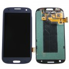 Samsung Galaxy S3 Neo i9301 LCD Screen and Digitizer Assembly - Black - Full Original - frame optionaled