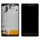 Nokia XL LCD Screen and Digitizer Assembly with Frame Black - Full Original