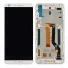 HTC Desire 626G LCD Screen and Digitizer Assembly with Frame - White