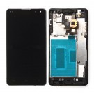 LG Optimus G E975 Screen Assembly with Frame (Black) (Premium)
