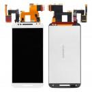 Motorola Moto X Style Screen Assembly (White/Black) (Premium) - frame optionaled